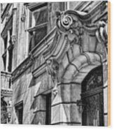 Manhattan East Side Buildings 01 Wood Print