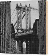 Manhattan Empire Wood Print