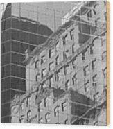 Manhattan Facades IIi Wood Print