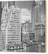 Manhattan From Madison Avenue Wood Print