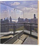 Manhattan Reflections Wood Print