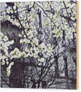 Manhattan Spring Wood Print