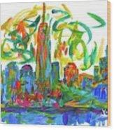 Manhattan Twirl Wood Print