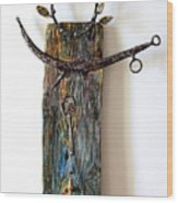 Manneken Pis Wood Print