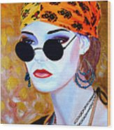 Mannequin Beauty One Wood Print