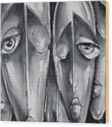 Mannequin Wood Print