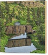Manning-rye Bridge Wood Print