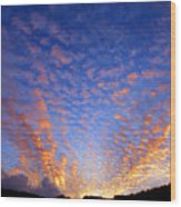 Manoa Valley Sunrise Wood Print