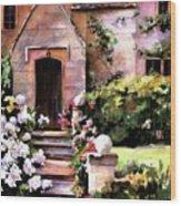 Manor House Wood Print