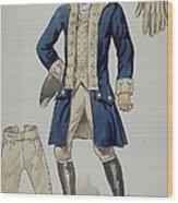 Man's Uniforms Wood Print