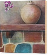 Mantel Beauty Wood Print