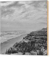 Mantoloking Beach - Jersey Shore Wood Print