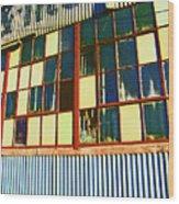 Manufacturing 4 Wood Print