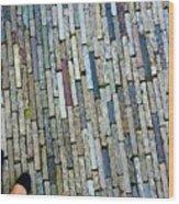 Many Layered Path Wood Print