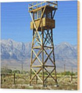 Manzanar A Blight On America 2 Wood Print