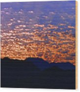 Manzanillo Sunset 3 Wood Print