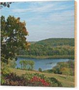 Maplewood State Park Wood Print