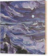 Mar Bravo Wood Print