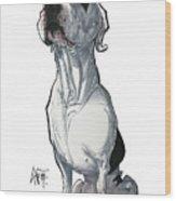 Maranos 3348 Wood Print
