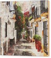 Marbella, Andalusia - 01 Wood Print