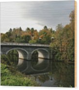 Marble Bridge Wood Print