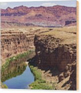 Marble Canyon Wood Print