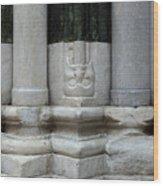 Marble Columns Wood Print