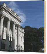Marble House Wood Print