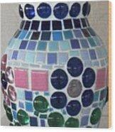 Marble Vase Wood Print by Jamie Frier