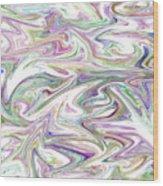 Marbled Pattern 2 Wood Print