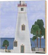 Marblehead Ohio Wood Print