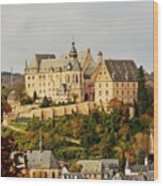 Marburg Castle Germany H B Wood Print