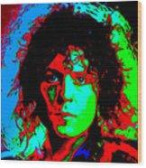 Marc Bolan Wood Print
