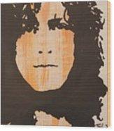 Marc Bolan T.rex Wood Print