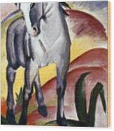 Marc: Grey Horse, 1911 Wood Print