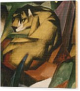 Marc: The Tiger, 1912 Wood Print