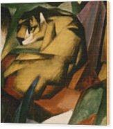 Marc: The Tiger, 1912 Wood Print