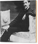 Marcel Proust, French Author Wood Print