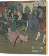 "Marcelle Lender Dancing The Bolero In ""chilp?ric"" Wood Print"