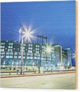 March 2017 Green Bay Wisconsin - Lambeau Field - Green Bay Packe Wood Print