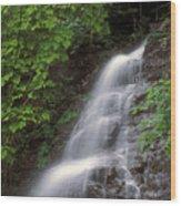 March Cataract Falls Mount Greylock Wood Print