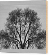 March Wood Print