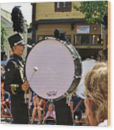 Marching Band Percussion  Wood Print