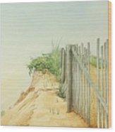 Marconi Beach Wood Print