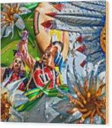 Mardi Gras - New Orleans 3 Wood Print