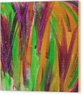 Mardi Gras Wood Print