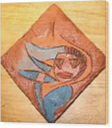 Marg - Tile Wood Print