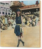 Margaret Gorman, 1921 Wood Print
