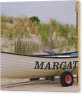 Margate Beach Wood Print