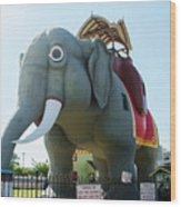 Margate New Jersey - Lucy The Elephant Wood Print